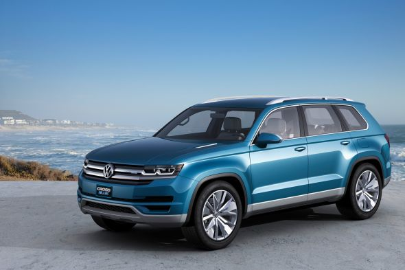 Volkswagen Cross Blue SUV Concept Pic