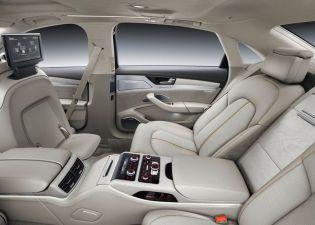 2014 Audi A8L Luxury Saloon 7