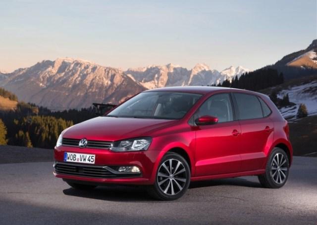 Euro-spec 2014 Volkswagen Polo Facelift Pic