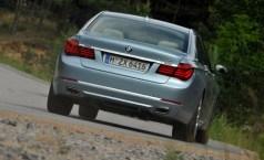 BMW 7 series ActiveHybrid rear