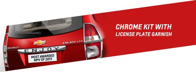 Chevrolet Enjoy Anniversary Edition MPV 5