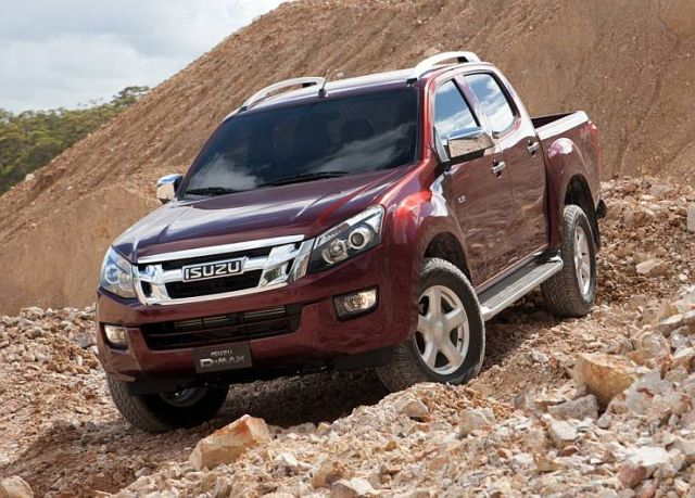 Isuzu D-Max Pick Up Truck Photo