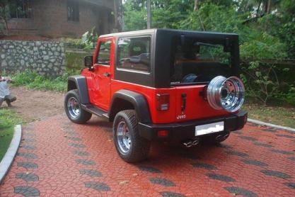 Mahindra Thar to Jeep Rubicon 4