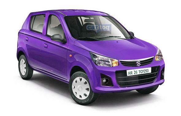 Maruti Alto 800 Facelift Render Image