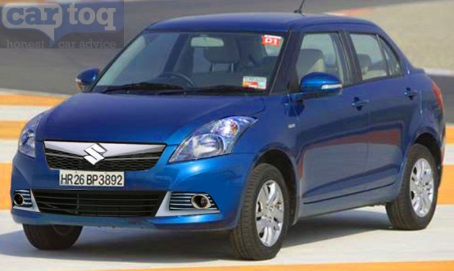CarToq's speculative render of Maruti Suzuki Dzire Facelift Image
