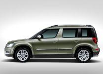 Skoda Yeti Facelift SUV 5