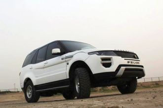 Tata Safari to Range Rover Evoque 3