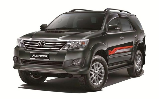 2014 Toyota Fortuner TRD Edition SUV Pic