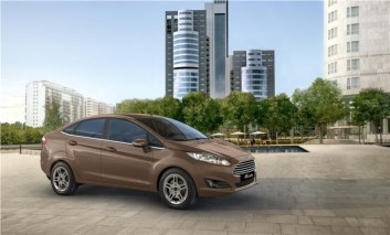 2014 Ford Fiesta Sedan Facelift 2