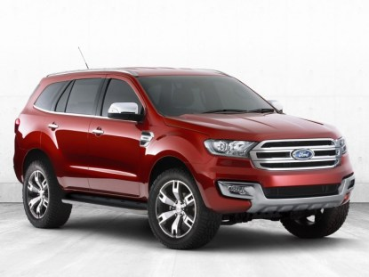 2015 Ford Endeavour SUV Concept 1