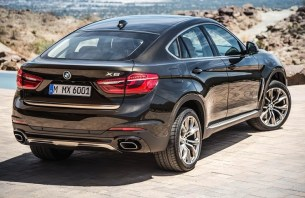 BMW X6 rear three quarters
