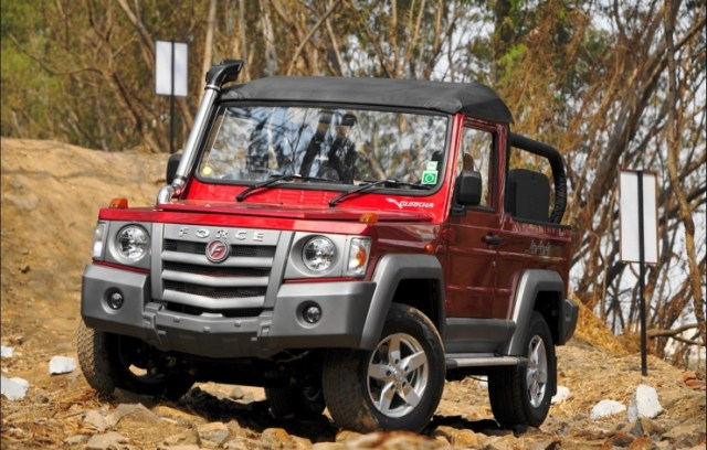 Force Gurkha 4X4 SUV 1