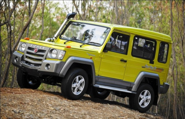 Force Gurkha 4X4 SUV 2