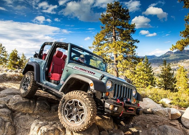 Jeep Wrangler Rubicon Off Roader SUV Pic