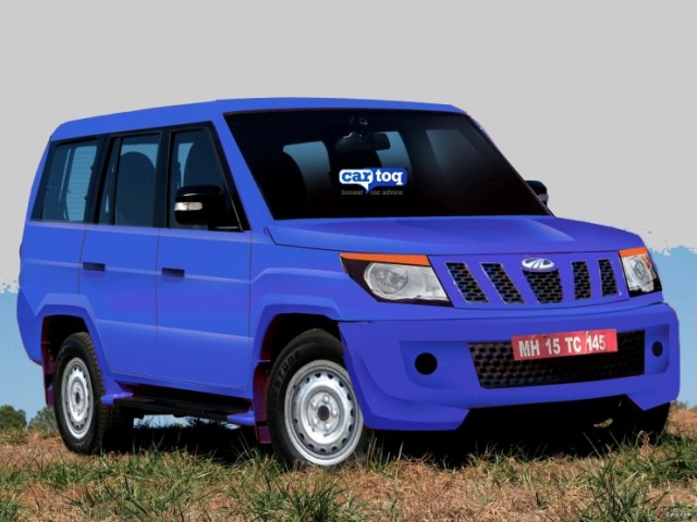 CarToq's speculative render of the 2015 U301 Mahindra Bolero Compact SUV Image