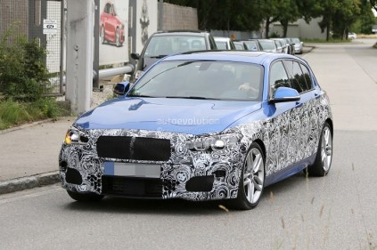 2015 BMW 1-Series facelift 1