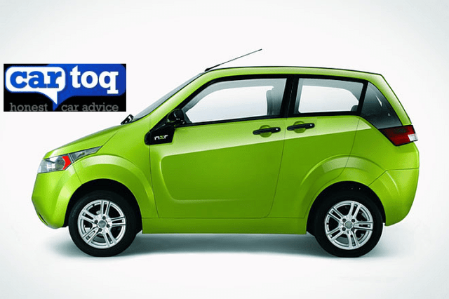Mahindra Reva E2O Electric Car with Suicide Doors Render Image