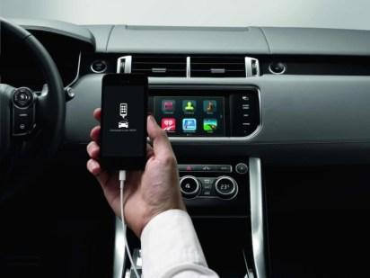2015 Range Rover InControl App