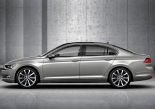 2015 Volkswagen Passat B8 Luxury Sedan 4