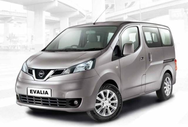 Nissan Evalia Facelift MPV 1