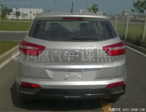 Production-spec 2015 Hyundai iX25 Compact SUV Spyshot 2