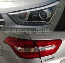 Production-spec 2015 Hyundai iX25 Compact SUV Spyshot 3