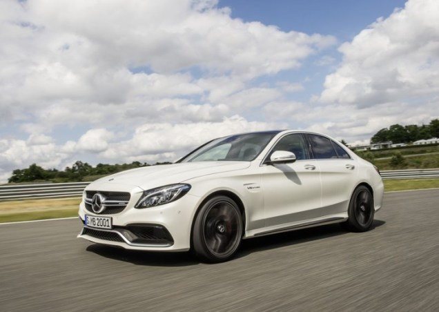 2015 W205 Mercedes Benz C63 AMG High Performance Sedan 9