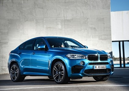 2015 BMW X6 M High Performance Crossover 5