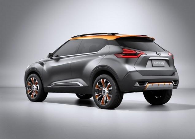 Nissan Kick Compact SUV Concept 3