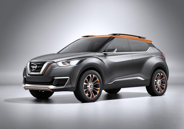 Nissan Kick Compact SUV Concept Pic