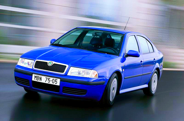 First Generation Skoda Octavia Pic
