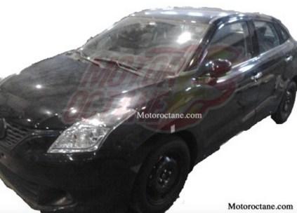 2015 Maruti Suzuki YRA Premium Hatchback Spyshot 2
