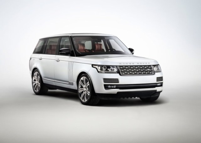 2015 Range Rover Luxury SUV 1