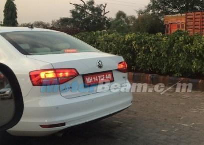 2015 Volkswagen Jetta Sedan Facelift Spyshot 3