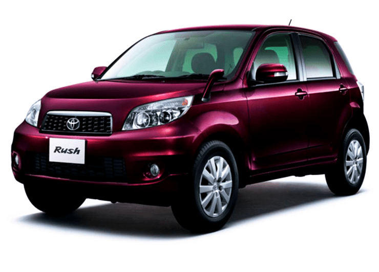 toyota rush compact suv spotted in india. Black Bedroom Furniture Sets. Home Design Ideas