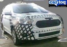 2015 Ford Figo Hatchback Spyshot