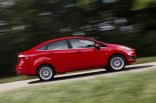 Ford Fiesta Sedan Facelift Profile