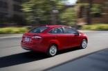 Ford Fiesta Sedan Facelift On The Move