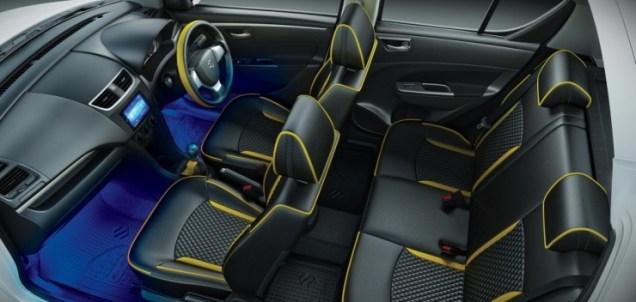 Maruti Suzuki Swift Windsong Edition Interiors