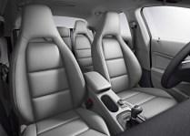 Mercedes Benz CLA Sedan Front Seats