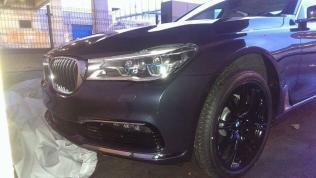 Next Generation 2016 BMW 7-Series Luxury Saloon Spyshot 1