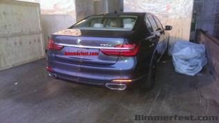 Next Generation 2016 BMW 7-Series Luxury Saloon Spyshot 3