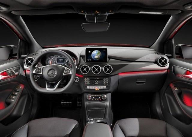 2015 Mercedes Benz B-Class Hatchback Facelift Interiors