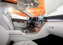 2015 Mercedes Benz C-Class Luxury Saloon Front Seats