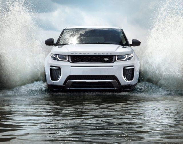 2016 Range Rover Evoque Facelift Front