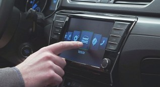 016 Skoda Superb Luxury Saloon Infotainment Interface