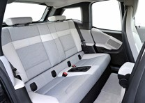 BMW i3 Electric Car Rear Seat