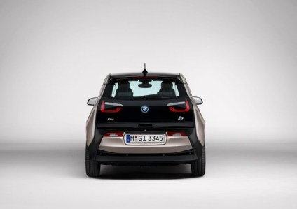 BMW i3 Electric Car Rear