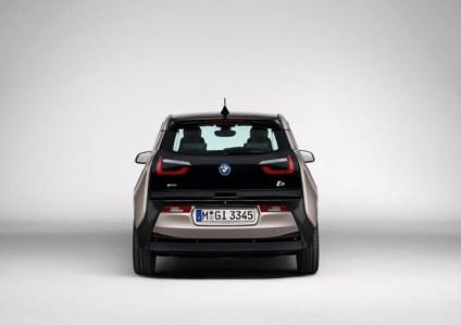 BMW i3 Electric Car Rear
