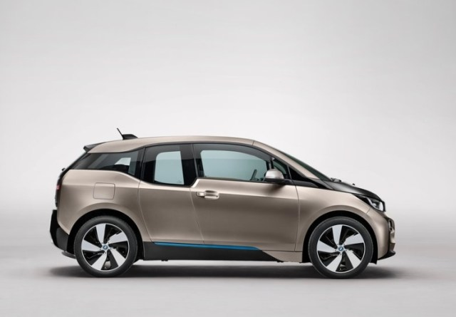 BMW i3 Electric Car Right Profile